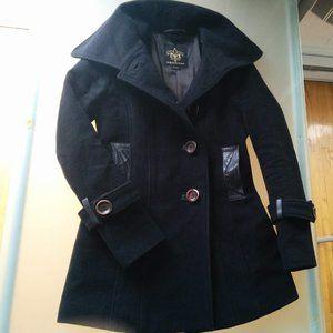 Mackage Black Wool Coat size XS